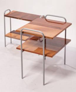 drewniane stoliki kawowe na wysoki połysk